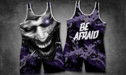 BE AFRAID Singlet