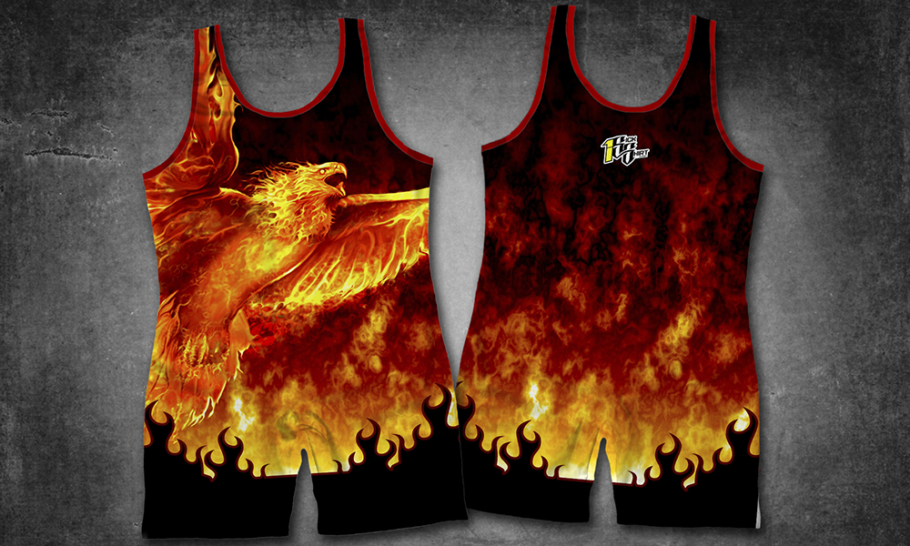 3600 Ws 6 Customize This Product Sublimated Wrestling Singlet