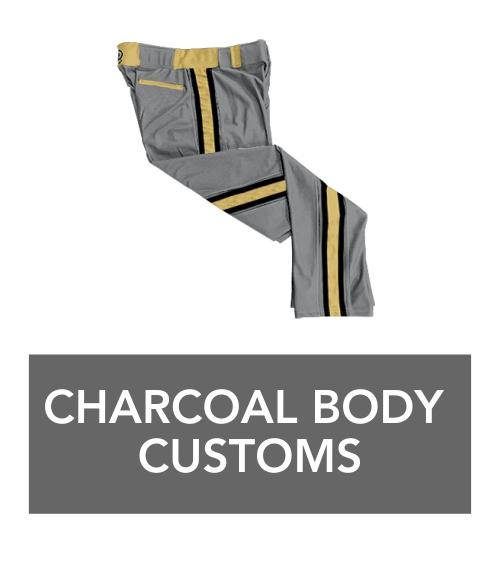 charcoal body basic braid pants