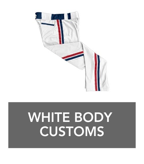 white body custom braid pants